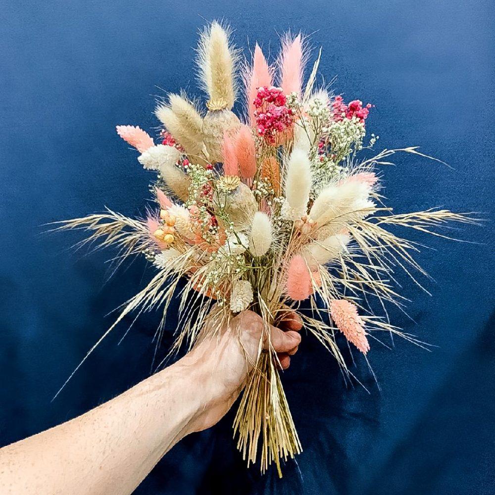 Bouquet de fleurs séchées Léa