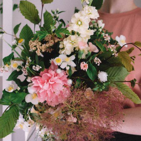 votre artisan fleuriste vous propose le bouquet : Bouquet feuillu