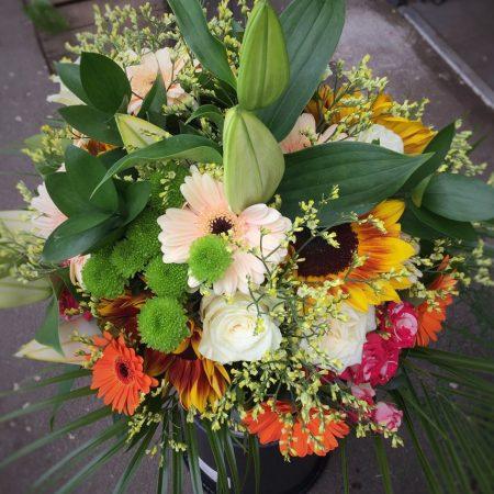 votre artisan fleuriste vous propose le bouquet : Pétillant