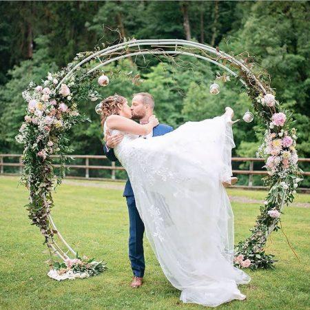 votre artisan fleuriste vous propose le bouquet : Cérémonie mariage