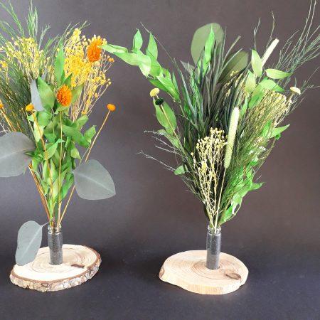 votre artisan fleuriste vous propose le bouquet : COMPOSITION FLORALE / SOLIFLORE / A POSER