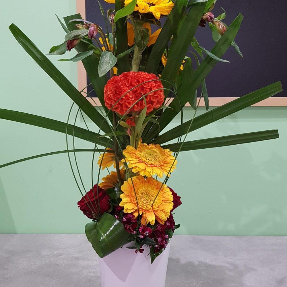 Composition fleurs coupées