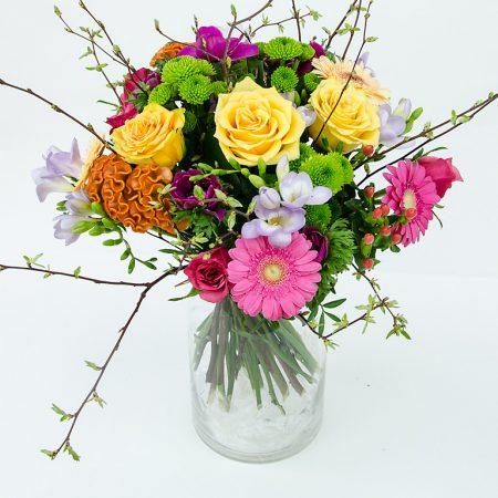 votre artisan fleuriste vous propose le bouquet : BOUQUET DE PRINTEMPS