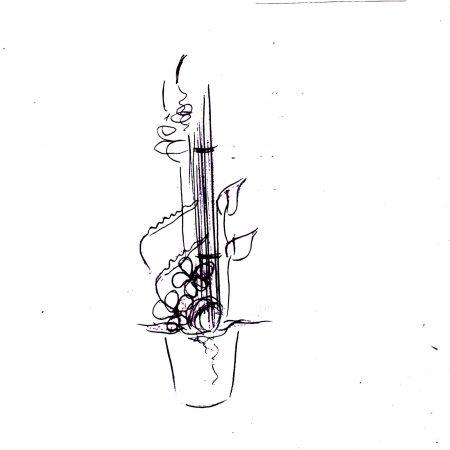 votre artisan fleuriste vous propose le bouquet : Elégance