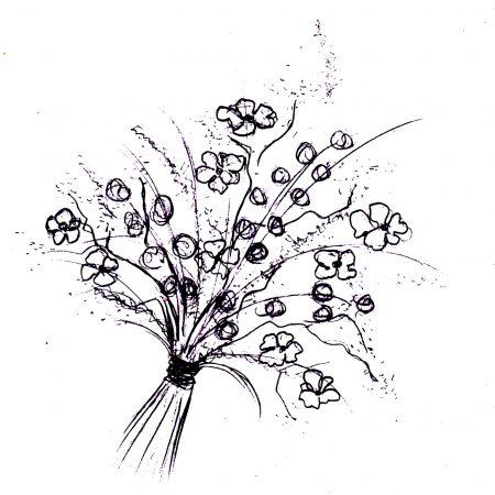 votre artisan fleuriste vous propose le bouquet : Envolée Sauvage