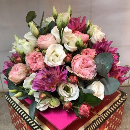 votre artisan fleuriste vous propose le bouquet : Centre de table