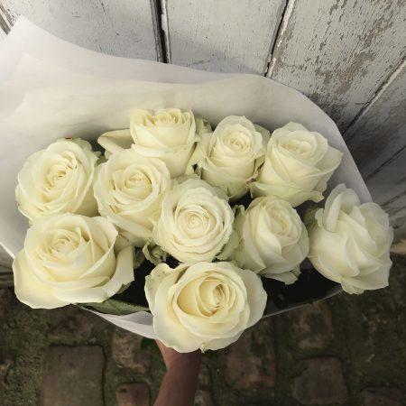 votre artisan fleuriste vous propose le bouquet : Bouquet de Roses avalanche à l'unité