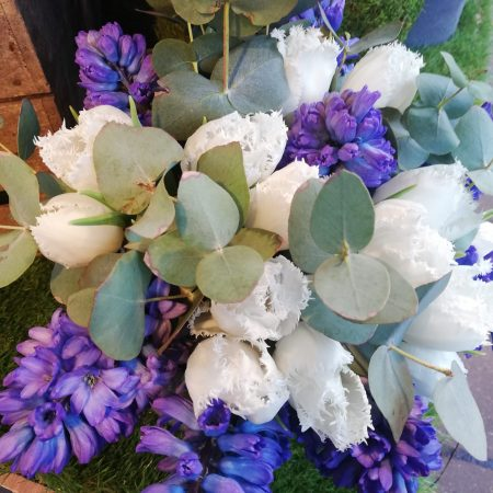 votre artisan fleuriste vous propose le bouquet : Composition rapide