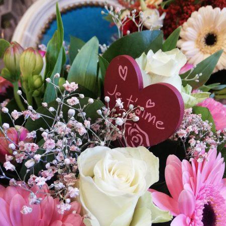 votre artisan fleuriste vous propose le bouquet : Bouquet rond