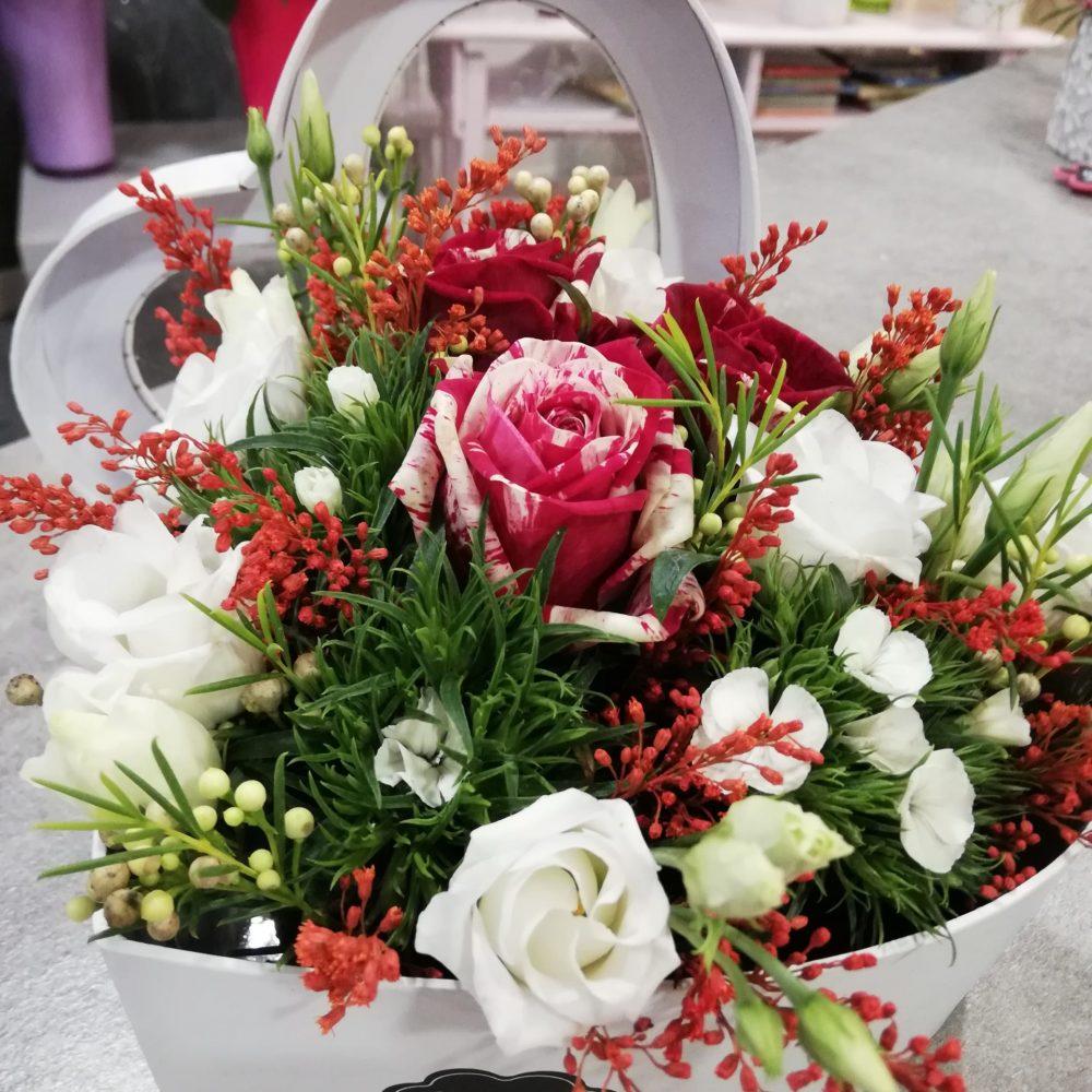 Cœur de fleurs