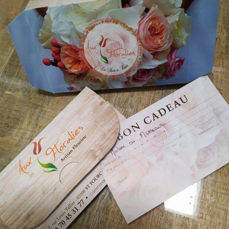 votre artisan fleuriste vous propose le bouquet : Surprise