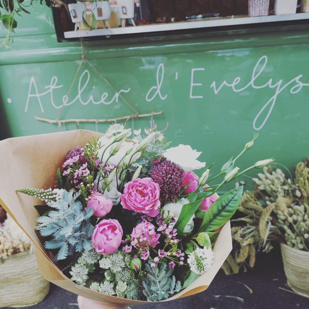 Bouquet de fleurs fraiche de saison