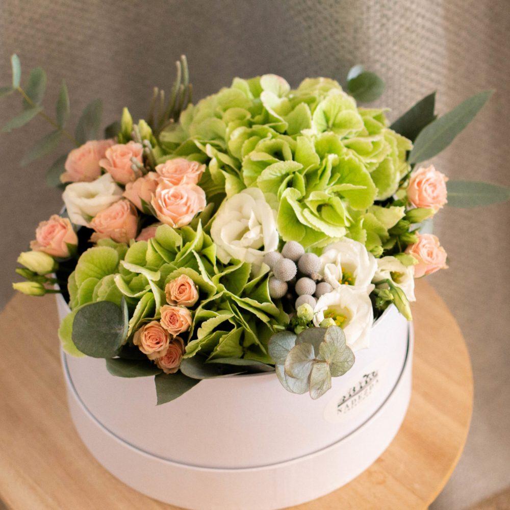 Jardin de sentiments - Flower box couleurs pastels