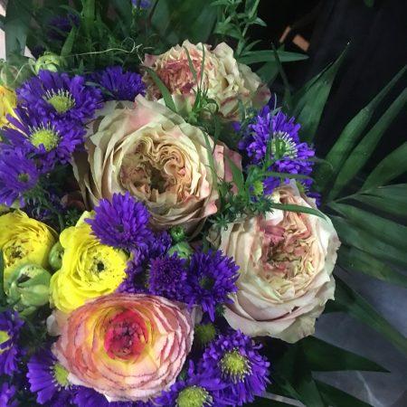 votre artisan fleuriste vous propose le bouquet : Bouquet coloré