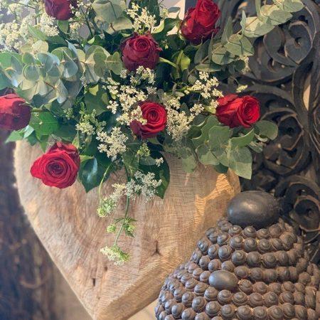 votre artisan fleuriste vous propose le bouquet : Roses de Seconde Nature Montry
