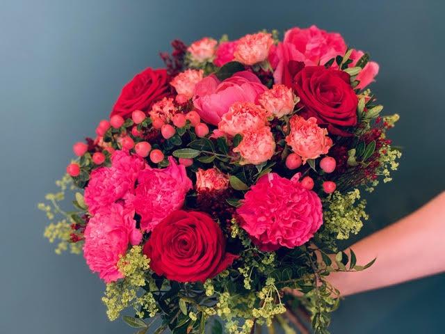 Bouquet du fleuriste vif