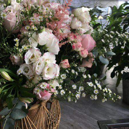 votre artisan fleuriste vous propose le bouquet : Composition Garden