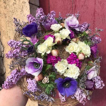 votre artisan fleuriste vous propose le bouquet : Bouquet couture