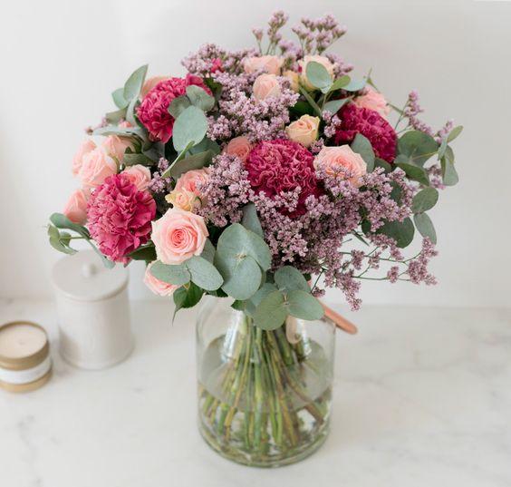 Bouquet rose - Beryl