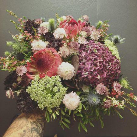 votre artisan fleuriste vous propose le bouquet : Bouquet tendance