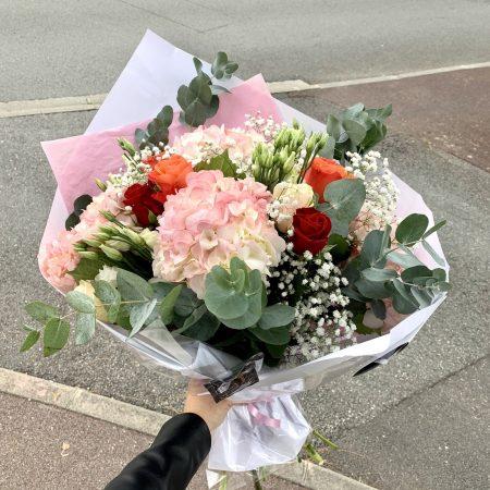 votre artisan fleuriste vous propose le bouquet : Bouquet Charme