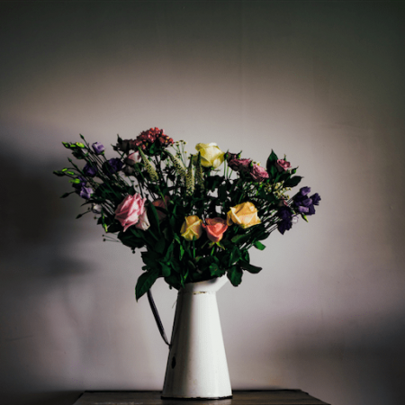 votre artisan fleuriste vous propose le bouquet : Bouquet Jardin D'Hiver