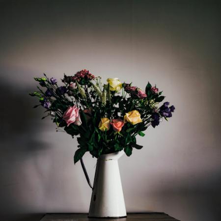 votre artisan fleuriste vous propose le bouquet : Bouquet Quand Les Fleurs S'En Melent