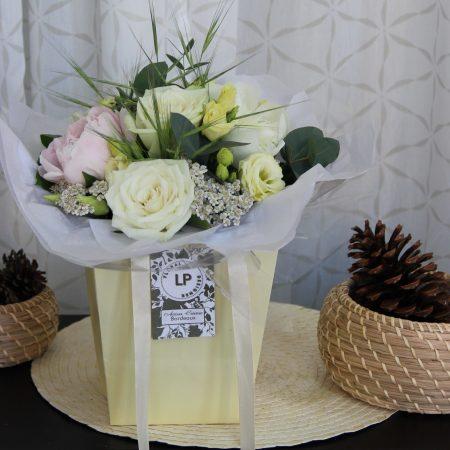 votre artisan fleuriste vous propose le bouquet : Bouquet Elegance