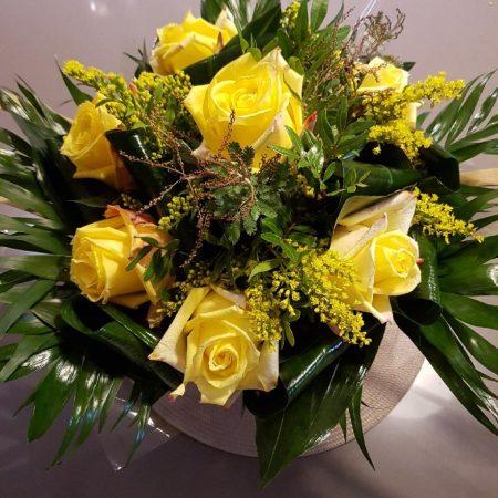 votre artisan fleuriste vous propose le bouquet : Bouquet Jaune