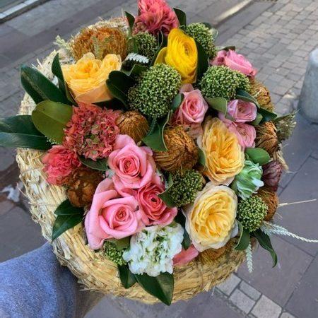 votre artisan fleuriste vous propose le bouquet : Bouquet Jovial