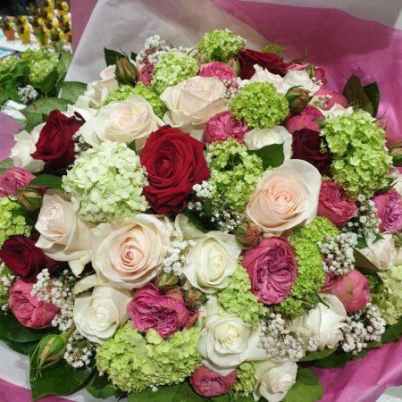 votre artisan fleuriste vous propose le bouquet : Bouquet Luxe