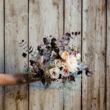 votre artisan fleuriste vous propose le bouquet : Bouquet de Mariée