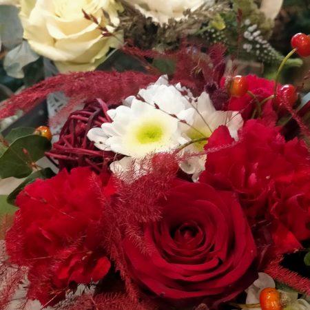 votre artisan fleuriste vous propose le bouquet : Bouquet Rouge