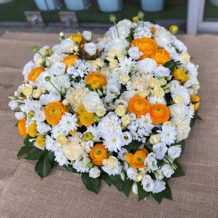 votre artisan fleuriste vous propose le bouquet : Coeur Lumière