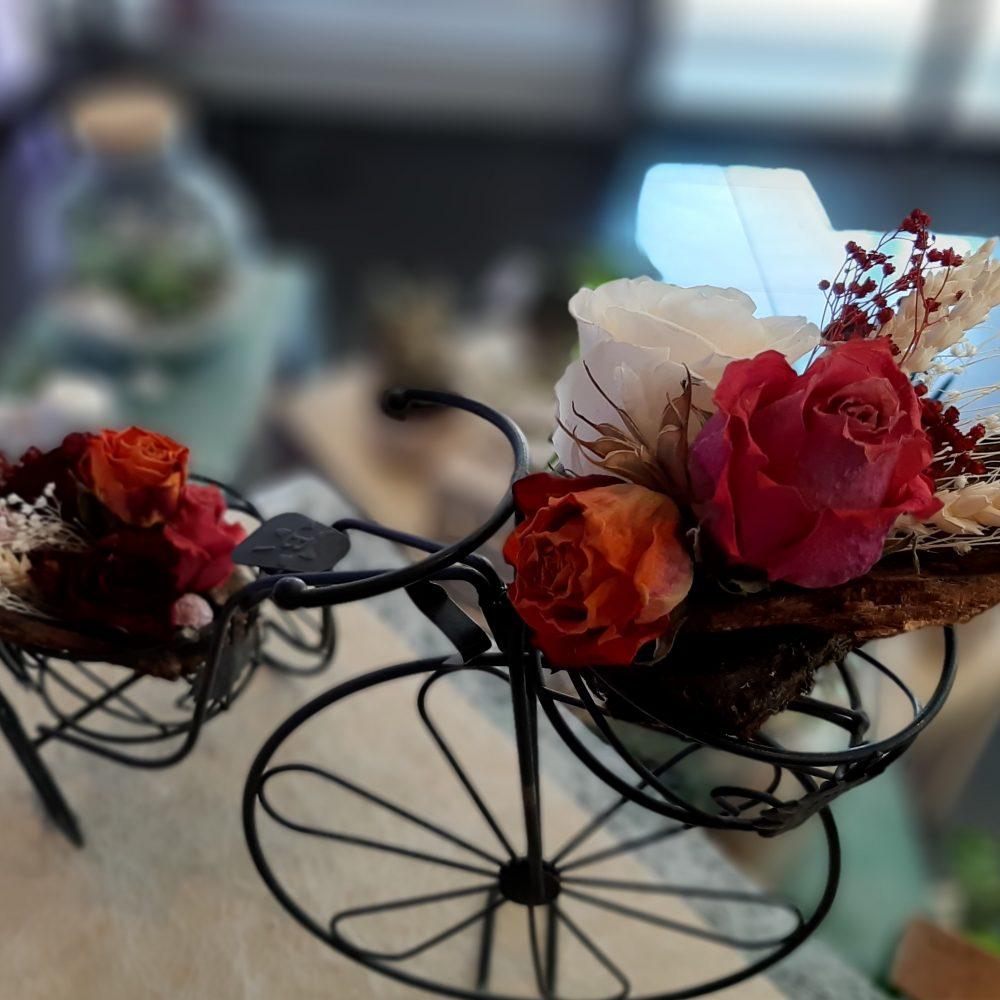 Composition De Roses Eternelles