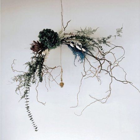 votre artisan fleuriste vous propose le bouquet : Couronne De Fleurs Sechées