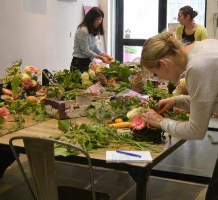 votre artisan fleuriste vous propose le bouquet : Cours d'Art Floral adulte