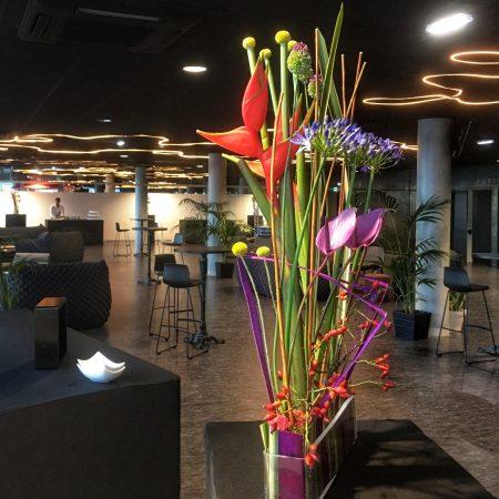 votre artisan fleuriste vous propose le bouquet : Création Exotisme
