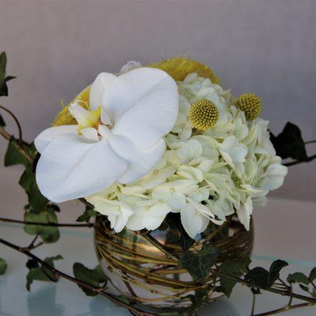 votre artisan fleuriste vous propose le bouquet : Création Simplicité