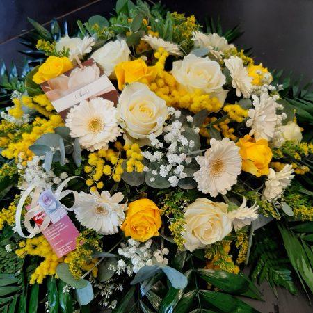 votre artisan fleuriste vous propose le bouquet : Deuil