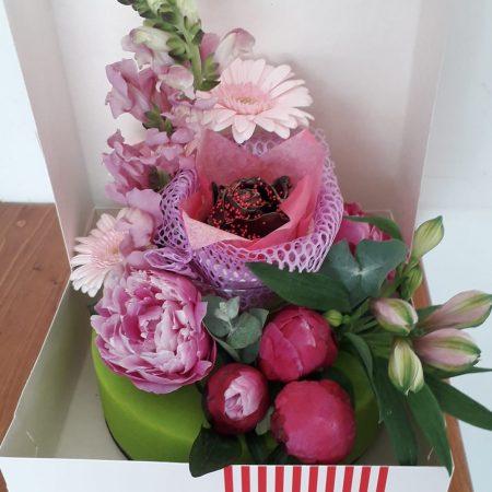 votre artisan fleuriste vous propose le bouquet : Gateau Sans Calorie