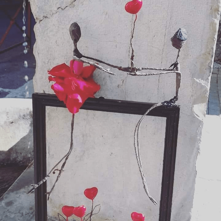 Les Amoureux En Fleurs Stabilisées