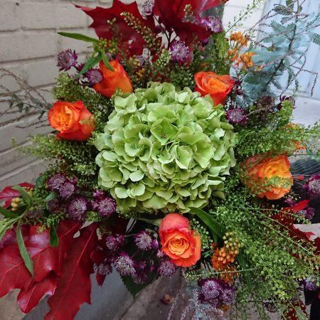 votre artisan fleuriste vous propose le bouquet : Bouquet Automnale