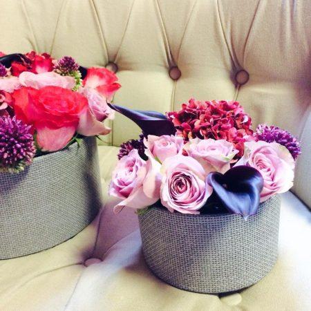 """votre artisan fleuriste vous propose le bouquet : Coffret """"merci maman"""""""