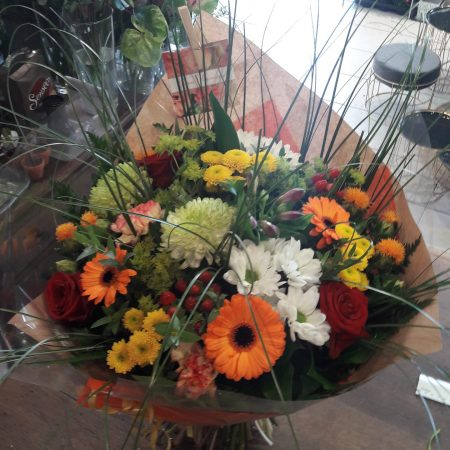 votre artisan fleuriste vous propose le bouquet : Bouquet Pimpant