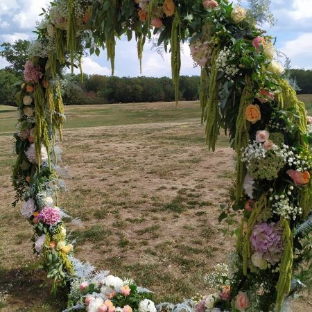 votre artisan fleuriste vous propose le bouquet : Prestation mariage