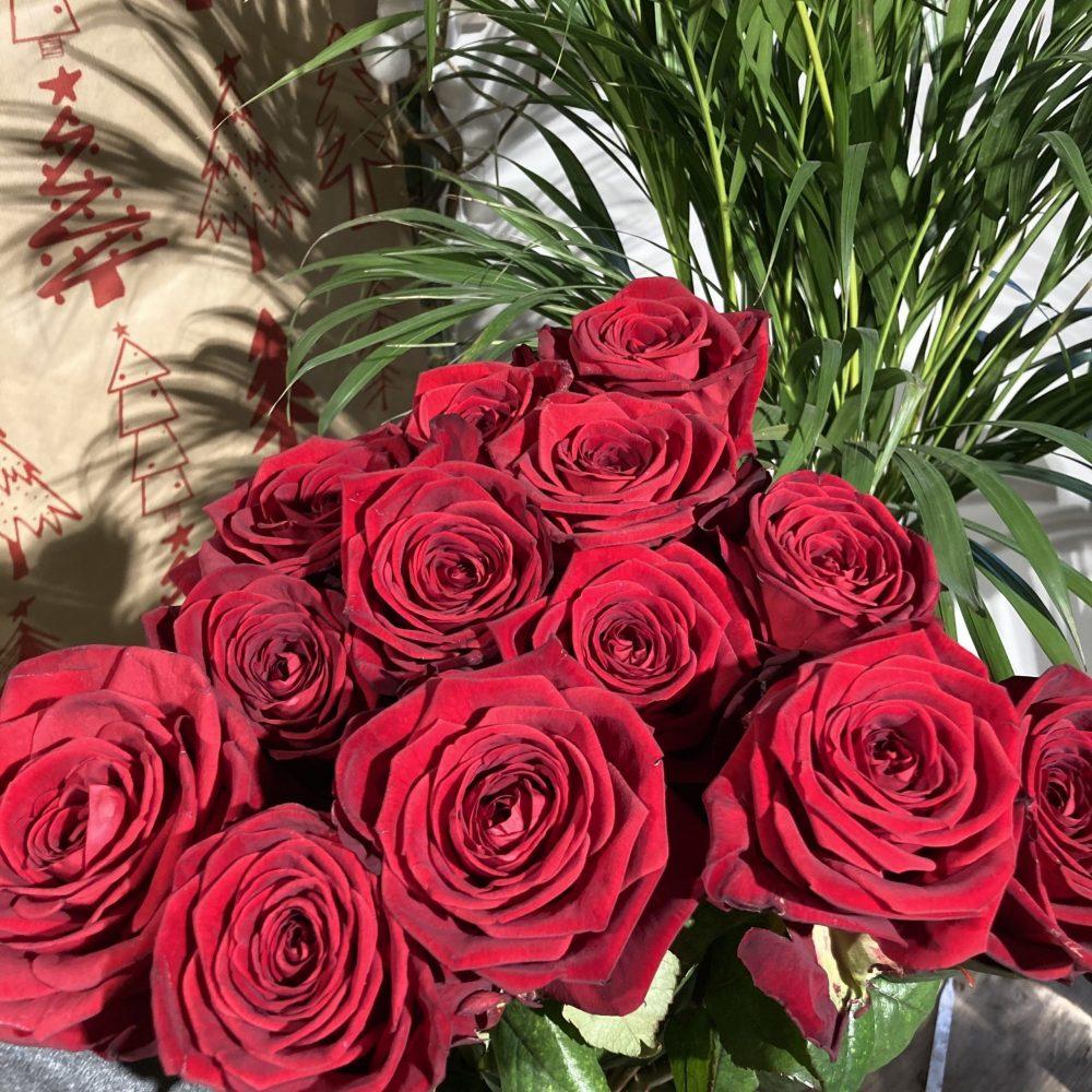 Roses à l'unité