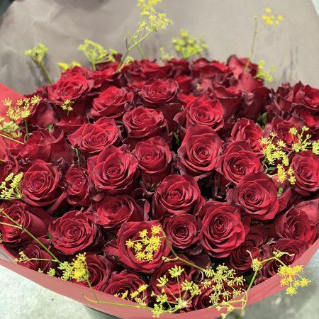 votre artisan fleuriste vous propose le bouquet : Roses de Estel Fleurs