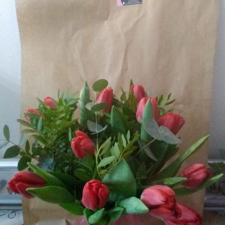 votre artisan fleuriste vous propose le bouquet : Bouquet Tulipes