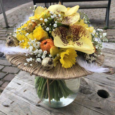 votre artisan fleuriste vous propose le bouquet : Bouquet De Pâques